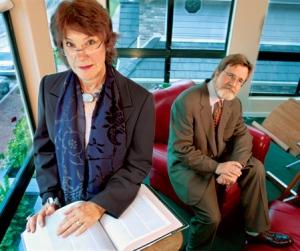 Howard F Ahmonson Jr, and Roberta Ahmonson