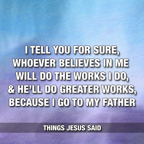 ThingsJesusSaid#1